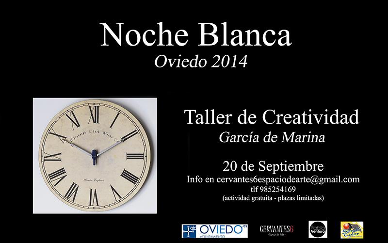 .Asturias con niños: Taller de Creatividad para la Noche Blanca de Oviedo
